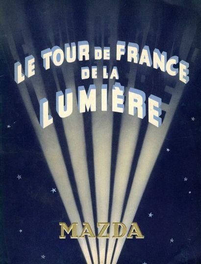 LOT de sept volumes. - Le tour de France...