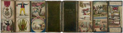 [BOISSON] DUROSNE JEUNE. [Catalogue d'étiquettes pour représentant]. Paris, [vers...
