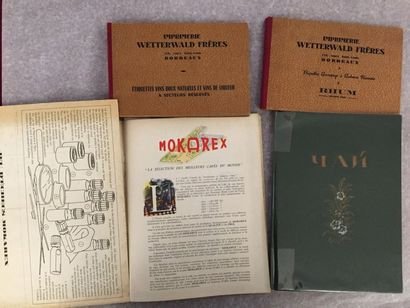 [BOISSON]. Ensemble de 3 brochures : - WETTERWALD...