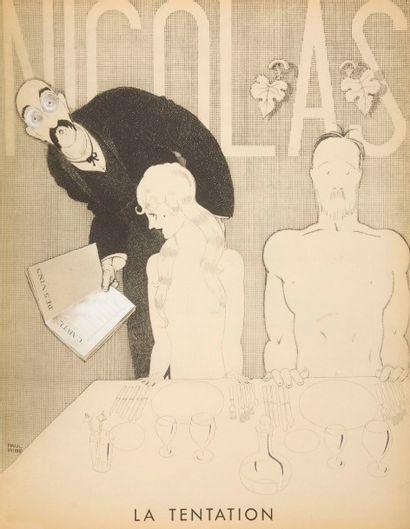 [ŒNOLOGIE - NICOLAS VINS] Paul Iribe (1883-1935)...