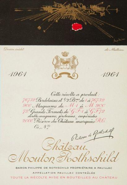 [ŒNOLOGIE] Mouton-Rothschild. Exceptionnelle...