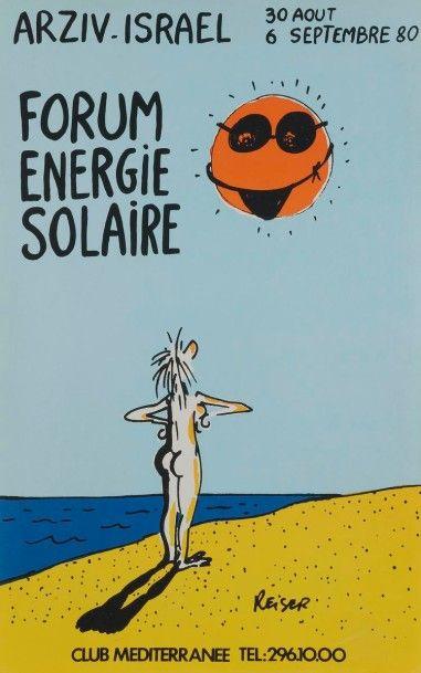 [ÉNERGIE] REISER. Forum Énergie solaire,...