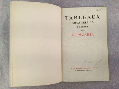 [ARTS] PICABIA (Francis). Catalogue des tableaux,...