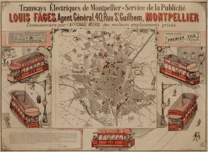[PAPETERIE] Tramway électrique de Montpellier,...