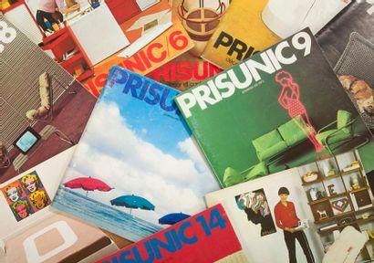 [DÉCORATION - PRISUNIC] 15 catalogues (Prisunic...