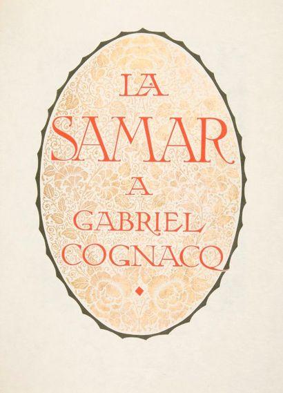 [GRANDS MAGASINS] André Suarez, La Samar...