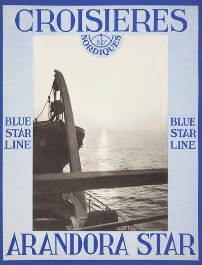 [NAVIGATION] Blue star line, Croisières nordiques, 1936 Photographies et textes...