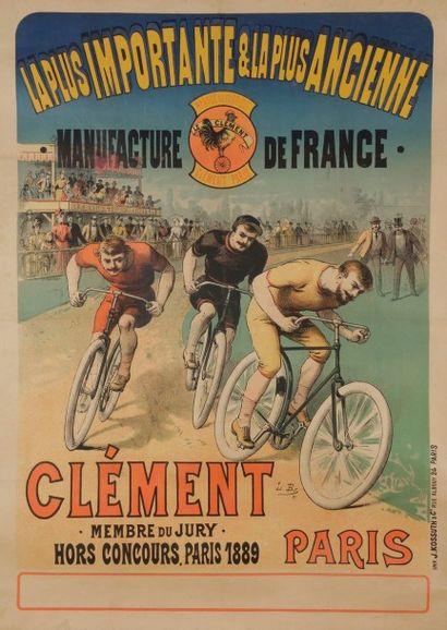 ANONYME La plus importante et la plus ancienne manufacture de France Signée du monogramme...