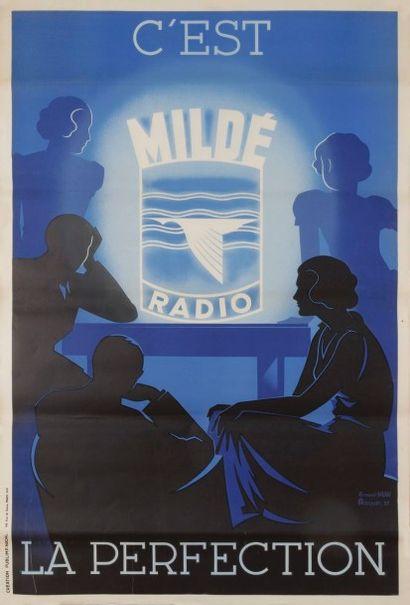 ROQUIN Mildé c'est la perfection, 1937 Signée...