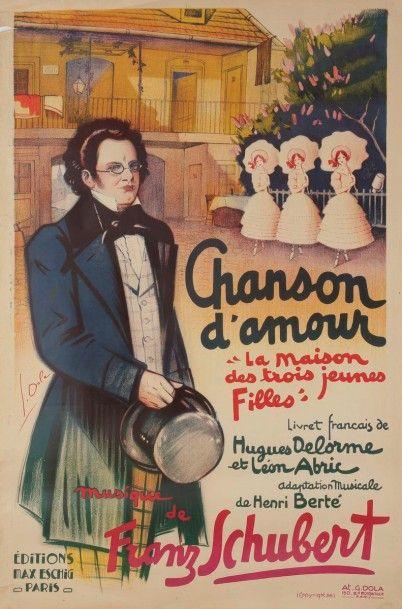 Georges DOLA (1872-1950) Chanson d'amour,...