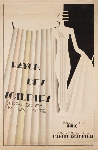 Maurice DUFRENE (1876-1955) Rayon des soieries, Opéra-bouffe en un acte, livret...