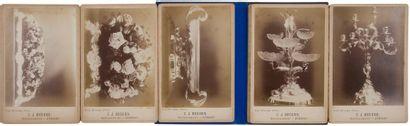 [ART DE LA TABLE] BEGEER. Surtout de table. Utrecht, avril 1889. — 11 photographies...