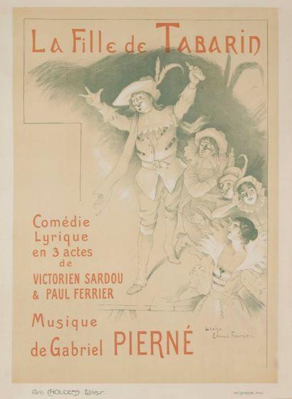 Louis Edouard FOURNIER La fille de Tabarin....
