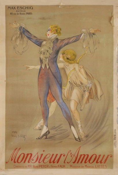 Louis ICART (d'après) (1888-1950) Monsieur...