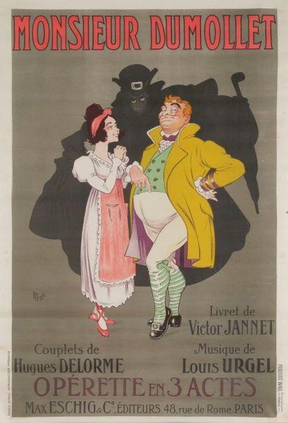 Jean-Marie Michel Liebeaux dit MICH (1881-1923) Monsieur Dumollet de Victor Jeannette....