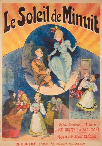 René PEAN (1875-1955) Le soleil de minuit...