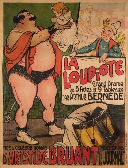 Francique POULBOT (d'après) (1879-1946) La...