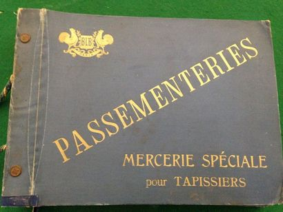 [MERCERIE] BLB. Passementeries. Mercerie...