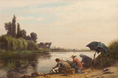 Emile LAMBINET (Versailles 1815 - Bougival 1877)