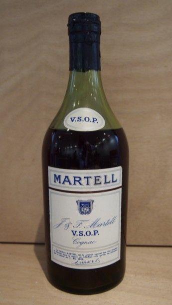 MARTELL 1 Bouteille COGNAC VSOP (Coffret) M.B., Martell, NM