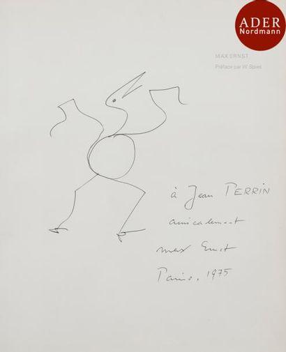 Max ERNST (1891-1976) Oiseau, 1975 Encre....