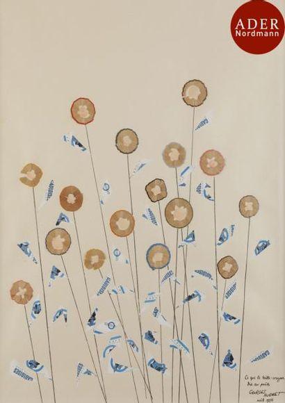 Georges HUGNET (1904-1974) Ce que le taille-crayon...