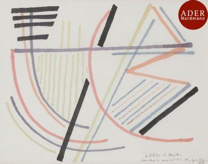 Alberto MAGNELLI [italien] (1888-1971) Composition,...
