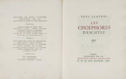 P. CLAUDEL.