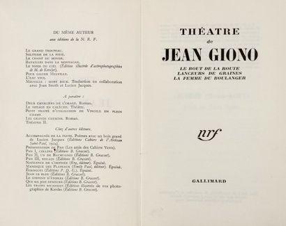 J. GIONO.