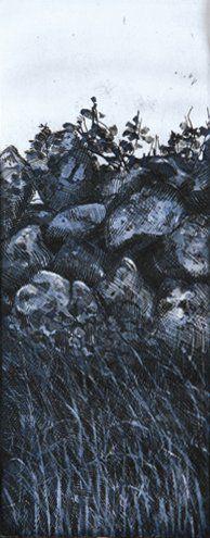 Carlos LOPEZ (Né en 1959) Galway Gates 4 Gravure taille douce sur papier. Epreuve...