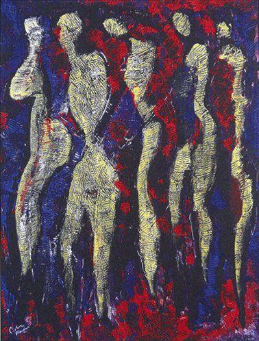 Gérald BLONCOURT [haïtien] (Né en 1926)