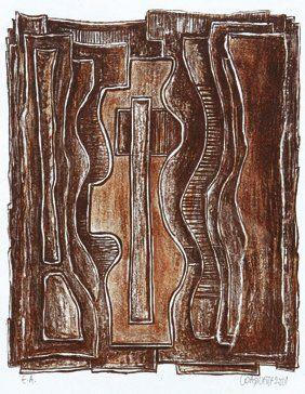 Jacques-Ivan COAQUETTE (Né en 1943) Carte blanche à Ivan Coaquette Lithographie sur...
