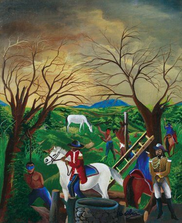 Abdience OBIN [haïtien] (Né en 1965)