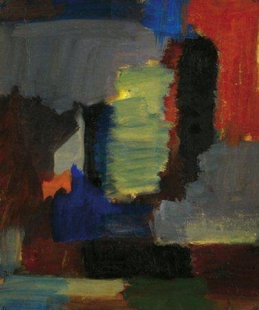 Jean-Claude CHARDON (Né en 1956) Sans titre Huile sur toile clouée sur isorel. Signée...