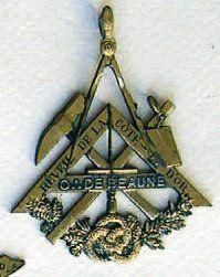 Médaille de la loge «Le REVEIL de la COTE...