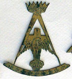 Rare bijou de Chevalier Rose-Croix, 4e Ordre...