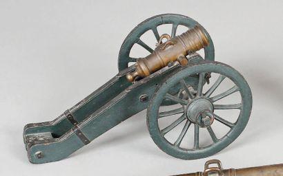 Maquette d'un obusier de siège type 1775....