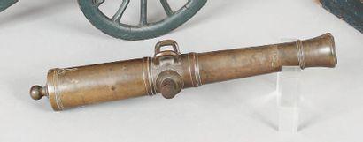 Maquette de fût de canon de siège de 24,...