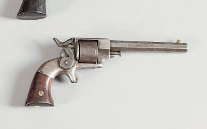 Revolver Allen et Wheelock. Six coups, calibre...