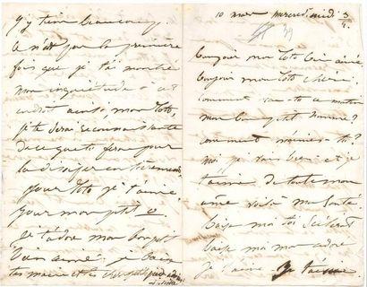 [Victor HUGO]. Juliette DROUET (1806-1883)...