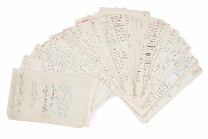 Panaït ISTRATI (1884-1935). Manuscrit autographe...