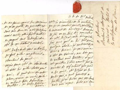 Julie de LESPINASSE. 2 L.A., [1775 et s.d.],...