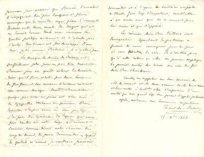 Paul de MUSSET (1804-1880) écrivain, frère...