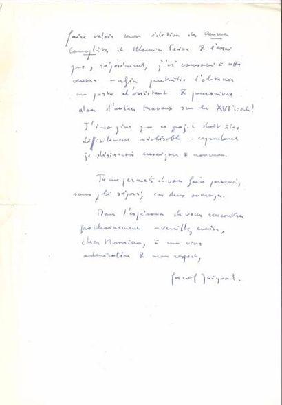 Pascal QUIGNARD+B243 (né 1948). L.A.S., Paris...