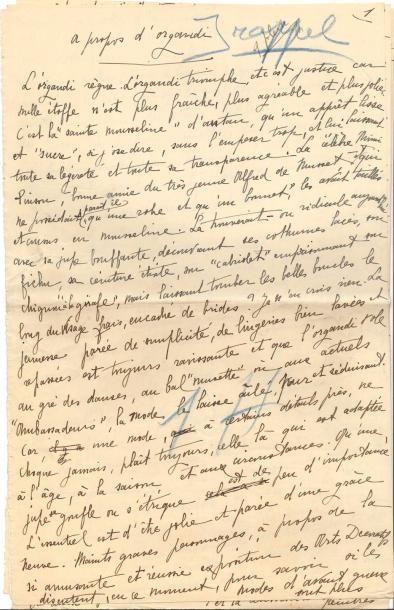 Marie de RÉGNIER, dite Gérard d'Houville...