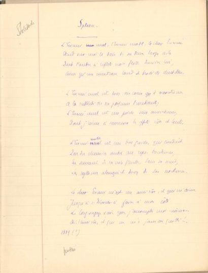 Édouard ROD (1857-1910). Manuscrit autographe...