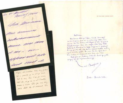 [Édouard ROD]. 6 L.A.S., [1910-1913], à Mme...