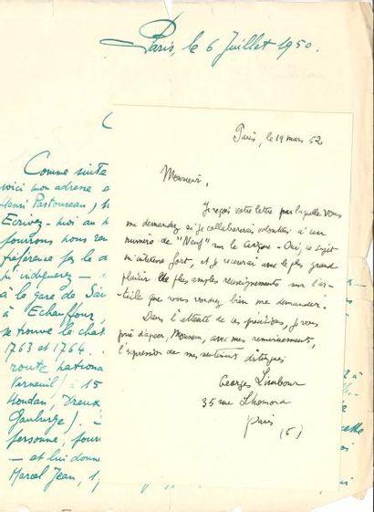 DIVERS. 20 L.A.S. ou L.S., 1945-1953, [la...