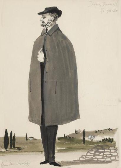 Jean-Denis MALCLÈS (1912-2002). 8 maquettes...