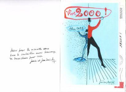 Jean-Denis MALCLÈS. 8 cartes avec P.A.S.,...